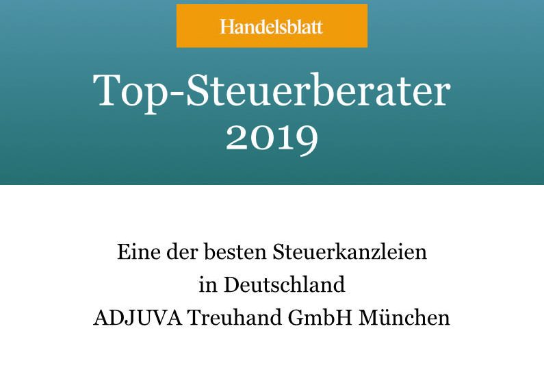 Adjuva erneut eine der besten Steuerkanzleien in Deutschland!